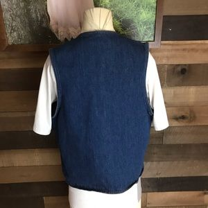 Levi's Jackets & Coats - Vintage levis orange tab denim vest medium